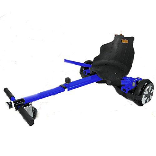 """SIYUMAOYI Sitzscooter Hoverkart für Roller Self Balance Scooter E-Scooter Hoverkart für alle Hoverboards 6,5/8.0""""/10"""" Verstellbar Sitz GoKart Hover Seat Go Cart Sitz Aufsatz, (Blau)"""