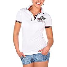 M.Conte Women Polo-Shirt Camisa Blusa de Polo para las mujeres Katy