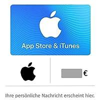 Geschenkkarte für App Store & iTunes ** +15% Bonusguthaben ab 25€ Bestellwert ** - für Deutschland - per E-Mail