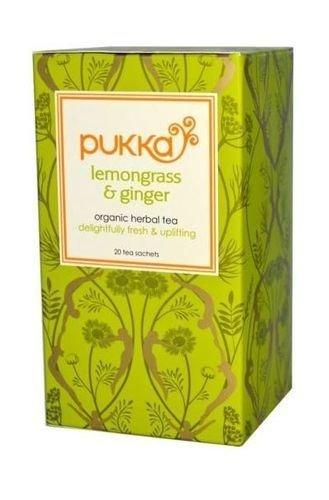 (3er BUNDLE)| Pukka Herbs Ltd Lemongrass & Ginger 20 Sachets
