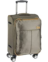 Eminent Elegance Nylon 58 cms Brown Softsided Carry-On (6845 - BW)