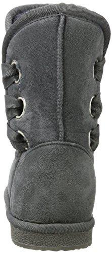 Fritzi aus Preussen Antke Fur Boot Tights, Stivali Antiscivolo Donna Grigio (Grey)