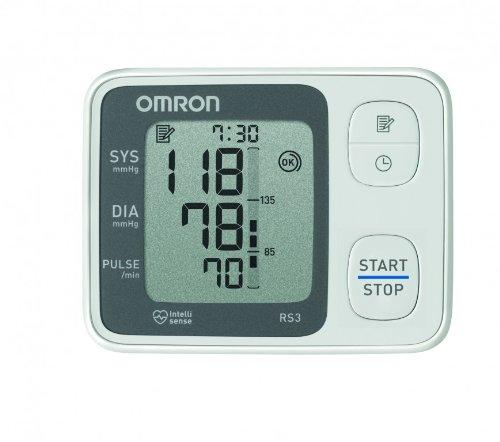OMRON RS3 Misuratore di Pressione da Polso, Sensore di Irregolaritá Battito Cardiaco, Validato Clinicamente - 4
