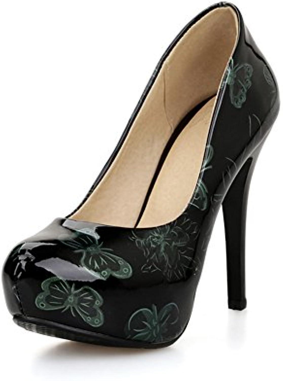 Sconosciuto 1TO9 Scarpe Col Tacco Donna verde (verde), 35 EU, MMS02865 | Conosciuto per la sua bellissima qualità  | Uomini/Donne Scarpa