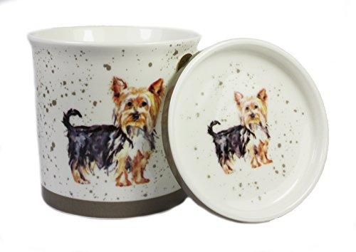 Yorkshire Terrier Fine China tazza e (Yorkshire Terrier Coaster)
