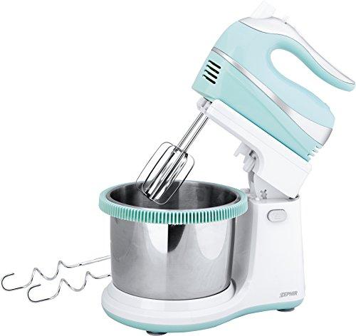 Zephir zhc467g Mixer mit Schüssel, hellblau