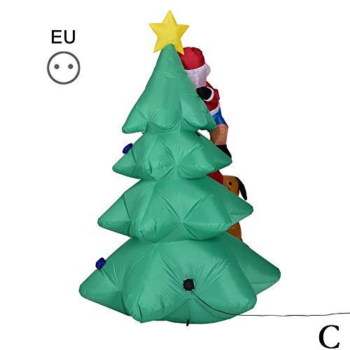 Aufblasbar Weihnachten Hof Dekorationen - Tammy Yerkes LED Große Weihnachtsluft Aufblasbare