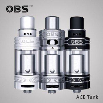 OBS ACE Tank Verdampfer Ceramic RBA Farbe Schwarz