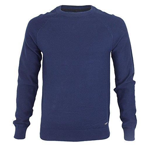 Threadbare Herren Jumper Pullover * Blau - Blue Depths