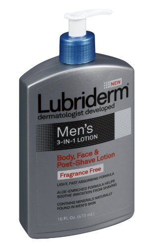 lubriderm-mens-3in1-body-face-post-shave-lotion-fragrance-free-16-fz-by-lubriderm