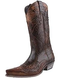 Sendra Boots - Botas de cuero para mujer marrón Braun/Antik