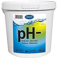 Tamar - Reductor pH Granulado, Bote de 6 Kilos.