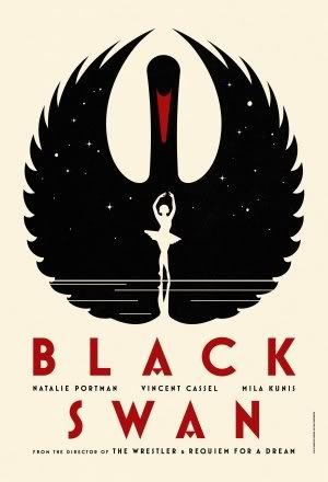 Black SWAN - Natalie Portman - LA Boca Teaser B - Movie Wall Art Poster Print - 43cm x 61cm / 17 Inches x 24 Inches A2 -