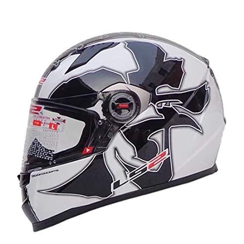 Mr·J Motorrad-Helm KlappHelm Downhill Helm ski Helm Visier jethelmg fullface Helm Moped Helm Chopper Helm rennrad Helm Herren,XL
