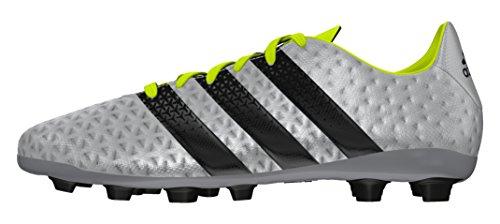 adidas Ace 16.4 Fxg J, Chaussures de Foot Garçon, UK Plata (Plamet / Negbas / Amasol)