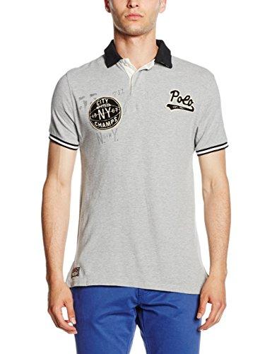 Polo Ralph Lauren Herren Poloshirt Ss Kc M3 Grau (ANDOVER HEATHER A0165)