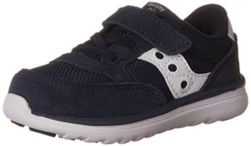 Saucony Baby Jazz Lite Sneaker (Toddler/Little Kid/Big Kid), Navy/White, 10 W US Toddler (Schuhe Kleinkind -, Saucony)