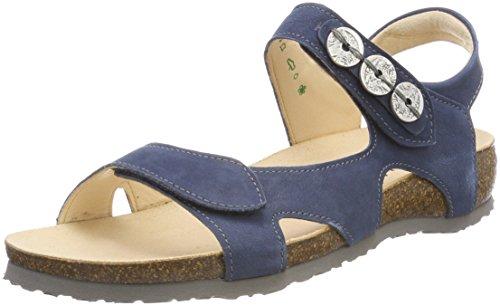 Mizzi_282989, Mules para Mujer, Azul (Saphir/Kombi 98), 42 EU Think