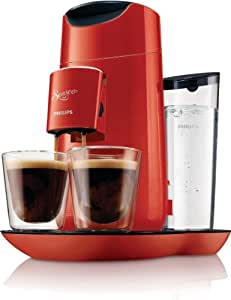 Philips HD7870/81 Kaffeepadmaschine Senseo® Twist  rot