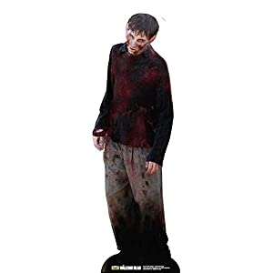 Empire Merchandising 655011 - Figura expositora (182 cm, cartón), diseño de Zombie de The Walking Dead 4