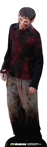 Empire Merchandising 655011 - Figura expositora (182 cm, cartón), diseño de Zombie de The Walking Dead 1