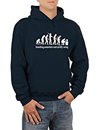 Something, somewhere went terribly wrong Herren Kapuzen-Sweatshirt