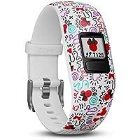 Garmin Vivofit Jr. 2 Children's Activity Tracker with Disney Minnie Mouse Theme, Adjustable, Multi-Colour