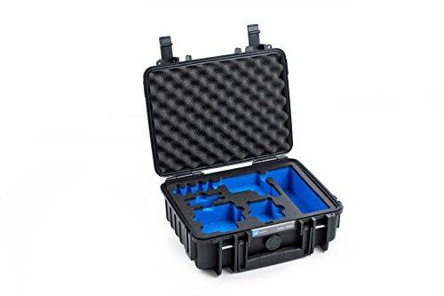 B&W outdoor.cases Typ 1000 mit GoPro Hero 5 / 6 Inlay - Das Original