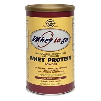 Solgar - Whey To Go Protein Powder from Solgar
