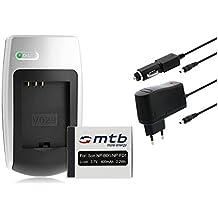 Batteria + Caricabatteria NP-BD1/FD1 per Sony Cyber-shot DSC-G3 T2 T70 T75 T77 T90 T200 T300 T500 T700 T900 TX1...