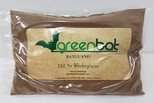 GREENBAT Beutel 1 kg pulver NPK 7-6-3 Biologischer Dünger basierend auf Bat Guano, Blutmehl, Hörnern von Rinder.
