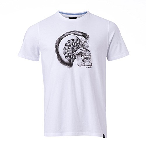 Animal Herren Mohawk T-Shirt White