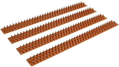 Zaun- und Mauerstreifen mit Spikes 8er Pack