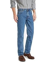 Wrangler Texas Regular Fit Tailored Mens Jeans - Stonewash