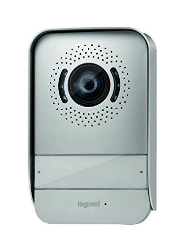 Legrand, Video-Außenstelle in Farbe mit 2-Drahttechnik zur Erweiterung der Legrand Video-Sprechanlagensets, 369339