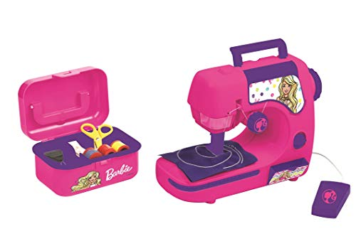 Lexibook - Barbie - SW100BB - Jeu d'Imitation - Machine à Coudre Barbie