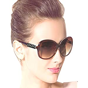 Sunglasses for Mens/Womens/Boys/Girls (Brown-Single-Butterfly)