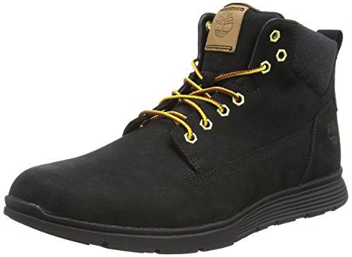 Timberland Herren Killington Chukka Sneaker Halbhoch, Schwarz (Black Nubuck 1), 44 EU -