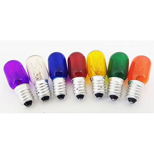 Sens Original Packung mit 7Glühlampen in Farbe, für Salzlampe, E14