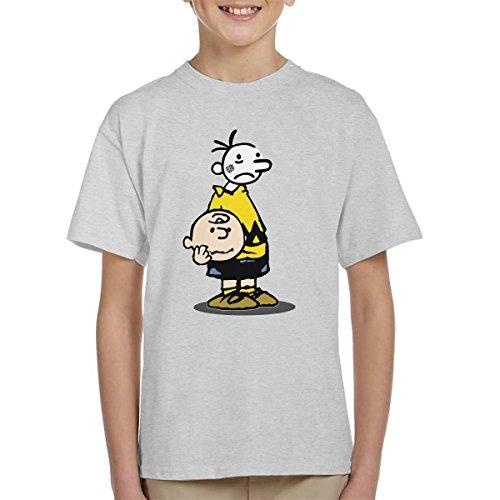 Wimpy Chuck Charlie Brown Kid Peanuts Kid's T-Shirt