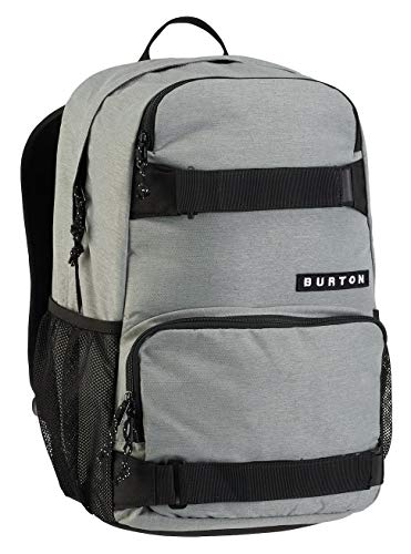 Burton Unisex Alltagsrucksack Treble Yell, Grey Heather, 14 x 38 x 58 cm, 21 Liter, 16329100079 -