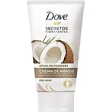 Dove Aceite de Coco y Leche de Almendras Crema de Manos 65 ml - [Pack