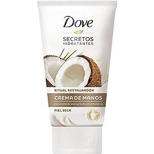 4135ZngVzoL. SS300  - Dove-Aceite-de-Coco-y-Leche-de-Almendras-Crema-de-Manos-paquete-de-6-75-ml-x-6