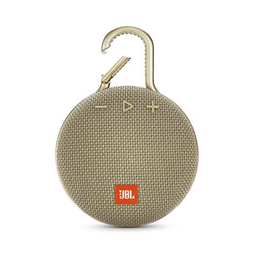 JBL Clip 3 Mono Tragbare Lautsprecher, 3,3 W, sand Mono Clip