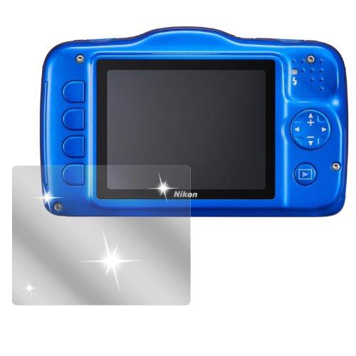 dipos I 6X Pellicola Protettiva Compatibile con Nikon Coolpix S32 Pellicola di Protezione Cristallo