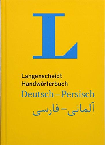 Langenscheidt Handwörterbuch Deutsch-Persisch - für persische Muttersprachler (Langenscheidt Handwörterbücher)