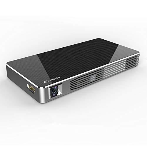 LIANGJING Mini Home HD Wireless WiFi-Projektor Kleiner Nicht-Screen-TV,A (Song 4k Tv)