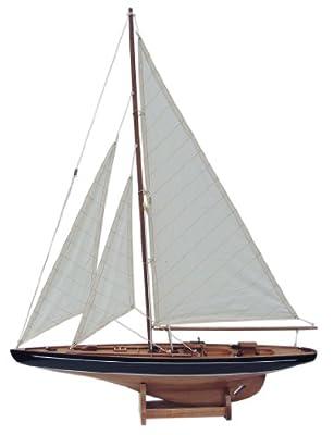 Segel Yacht, 60 cm von Maritime-Kunstideen