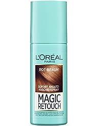 L'Oréal Paris Magic Retouch Ansatz-Kaschierspray, Rot-Braun, 1er Pack (1 x 75 ml)