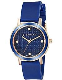 (Renewed) Giordano Analog Blue Dial Women's Watch-2932-03